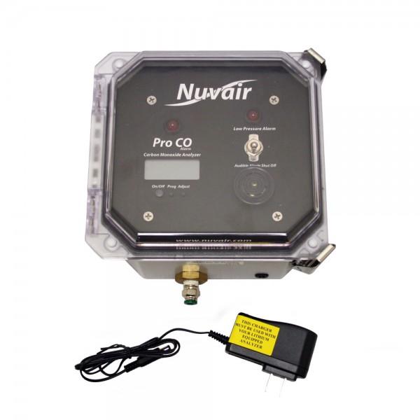 Pro CO (Carbon Monoxide) Analyzer with Low Pressure Alarm - 9621-5-lb