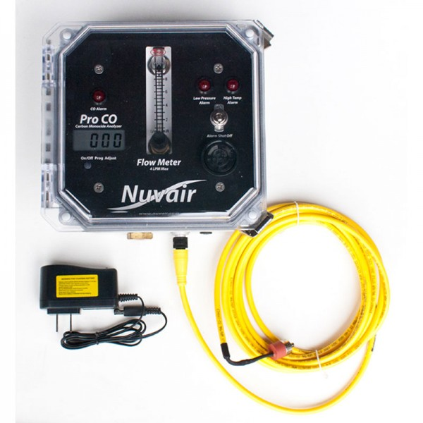 Pro CO (Carbon Monoxide) Analyzer with Low Pressure and High Temp Alarms - 9621
